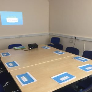 UK Academy Scotland Training Room